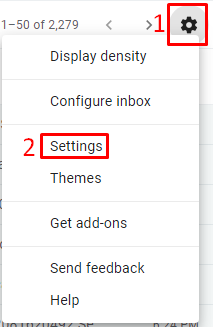 Turn off Google Hangouts Chat on Gmail - Settings