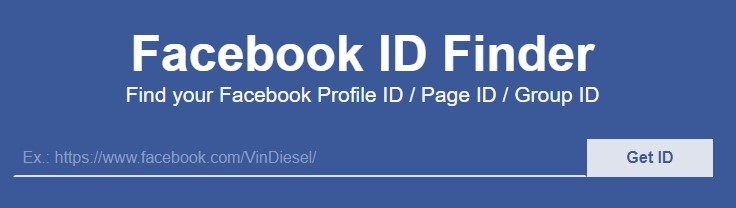 Paste URL - FindFB.id - Find Facebook Page ID